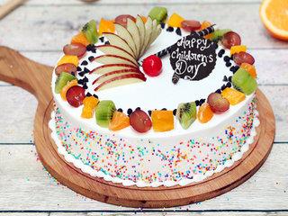 Childrens Day Fruit Cake