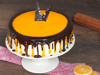 Choco Orange Cake in Noida