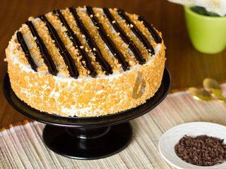 Caramel Hypnotism - A Chocolate Butterscotch Cake