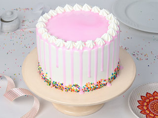 Chocolate Gems Pinata Cake