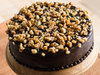 Zoomed View of Chocolate Nut Cake