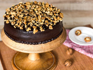 Chocolate Nut Cake Delivery in Bangalore