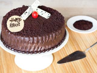 Chocolatey Magnificence Rakshabandhan Cake