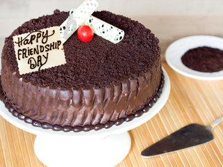 Chocolate Mud Cake For Friendship Day