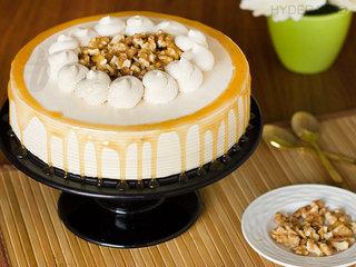 Coffee Walnut Cake in Hyderabad - Order Now