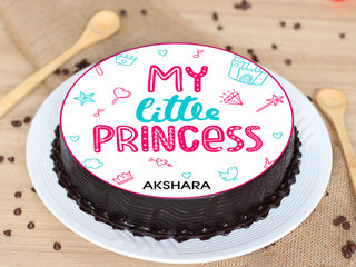 Poster Cake for Daughter