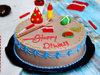 Diwali Choco Cream Cake