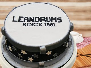 Delicious Drum Cake
