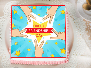 Cake For Friendship Day Celebration