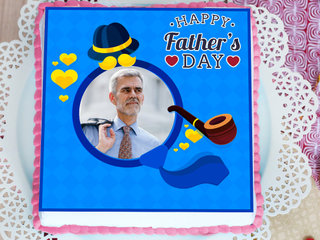 Father'S Day Photo Cake