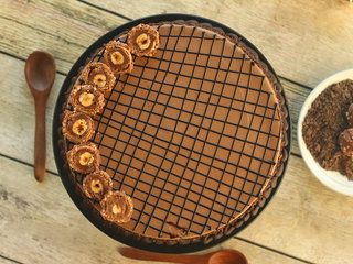 Top View of Classic Rocherlicious Cake in Ghaziabad