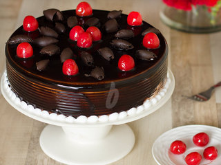 German Gateau - German Black Forest Cake