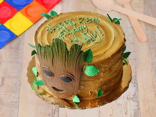 Groot Fondant Cake