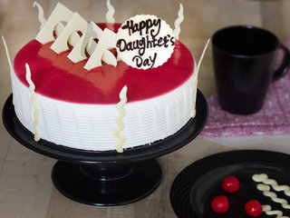 Happy Daughters Day Blueberry Cake