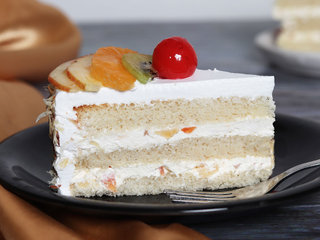 Delicious Fruit Pastries Cake
