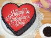 Heart Shaped Valentine Poster Cake