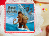 Ice Age Photo Cake For Children