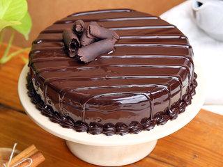 Lip-smacking Chocolate Truffle Cake