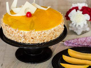 Send Mango Cake Online in Hyderabad