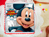 Mouseketeer Magnificence - A Birthday Photo Cake for Boys
