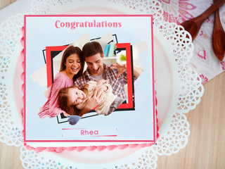 One And Only - A Congratulations Photo Cake