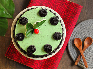 Top View of paan cake