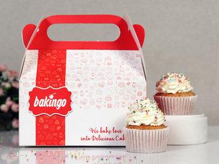 Funfetti Vanilla Cupcake Delivery