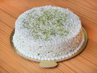 Delectable pistachio cake