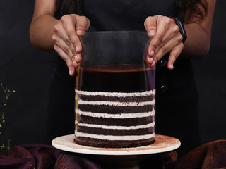 Part 1 View of Pull Me Up Choco Truffle Cake