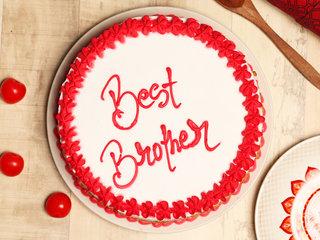 Raksha Bandhan Butterscotch CakeRaksha Bandhan Butterscotch Cake