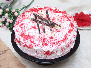 Order Online Creamy Red Velvet Cake in Gurgaon