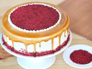 Red Velvet Choco Coffee Cake in Delhi