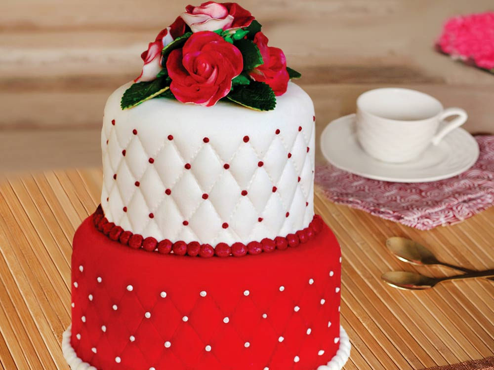 Rose Party Cake