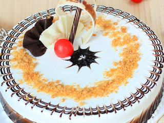 Zoom view of Traditional Butterscotch Cake