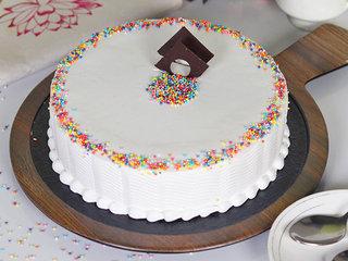 Sprinkled Adventure - A Vanilla Cake