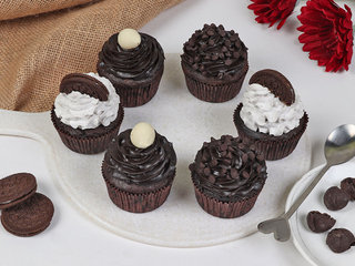 Set Of 6 Oreo Cup Cakes
