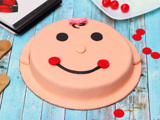 Smiley Theme Cake