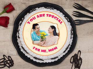 Special Mom Photo Cake