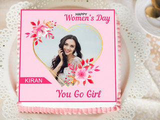 Personalised Cake for Womens Day