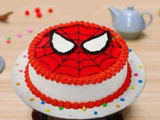 Super Spiderman Cake