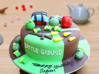 Pubg Battleground Cake