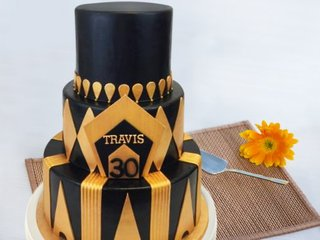 3 Tier Royal Party Cake