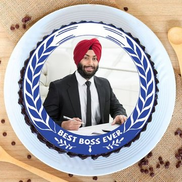 Best Boss Ever Cake