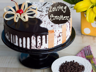 Bhai Dooj Choco Vanilla Cake