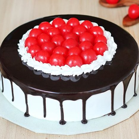 Cherrilicious Twist - A Black Forest Cake