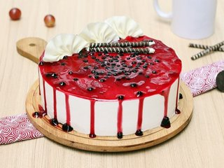 Luscious Blueberry Cake