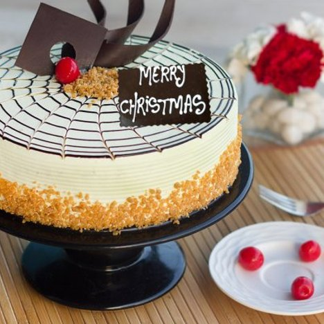 Butterscotch Christmas Cake