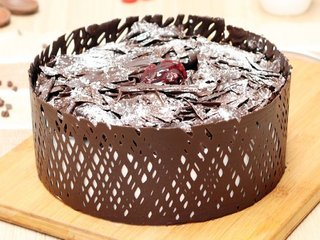 Dainty Black Forest Cake