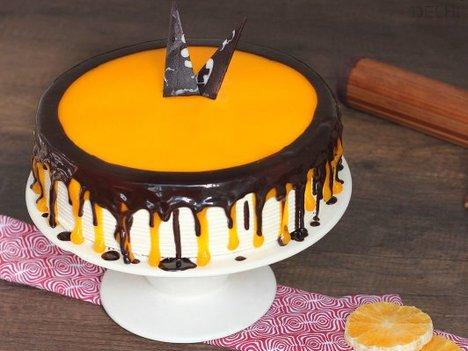Choco Orange Cake in Delhi
