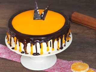 Buy Choco Orange Cake in Gurgaon